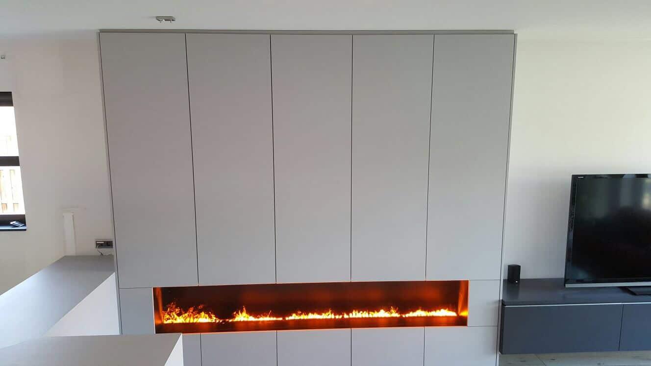 Elektrische Wandverwarming Badkamer : Inbouwhaarden op elektriciteit met verschillende vlameffecten