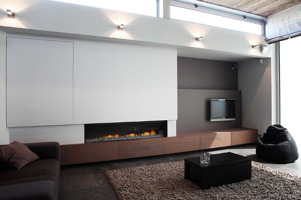 Vuur en hout brengt warmte in het interieur for Interieur hout